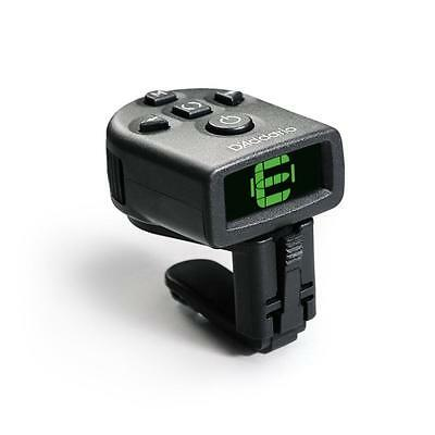 Planet Waves NS Mini Headstock Tuner, Tri-Color Backlit LCD Screen, PW-CT-12