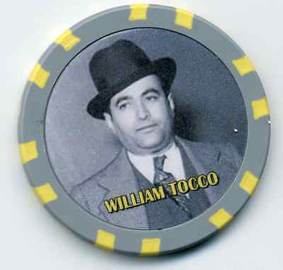 William Tocco  Gangster  Collector Chip