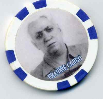 Frankie Carbo Gangster  Collector Chip