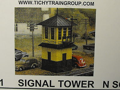 N SCALE  SIGNAL TOWER # 2601 BY Tichy Train Group