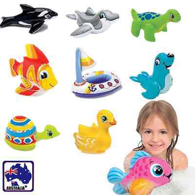 Inflatable Pool Beach Blow-up Toy Bath Time Cute Sea Animals Child Gifts GITOY01
