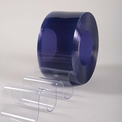 Clear Flexible PVC Door Strip Curtain - 300mm x 3mm x 10m