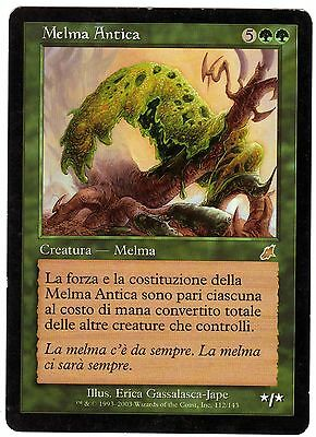 Melma Antica – Ancient Ooze 1x carte Magic Scourge (ITALIAN CARD) EXC