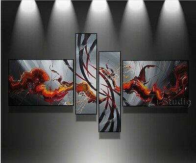 HANDMADE MODERN ABSTRACT HUGE LARGE CANVAS ART OIL PAINTING no frame