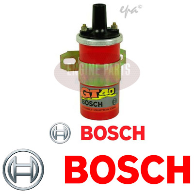 BOSCH GT40 IGNITION COIL. BOSCH SPORTS COIL for IGNITIONS WITHOUT RESISTOR