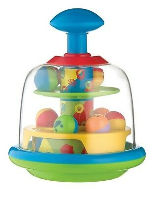Brand New Playgro My First Spinning Popping Pals Baby Toy 6m+