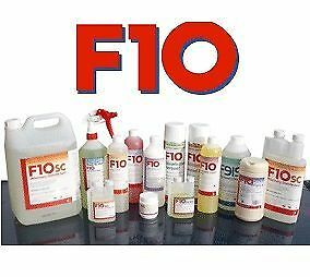 F10 Veterinary Disinfectant, Hand Scrub, Wipes, Amimal/Reptile
