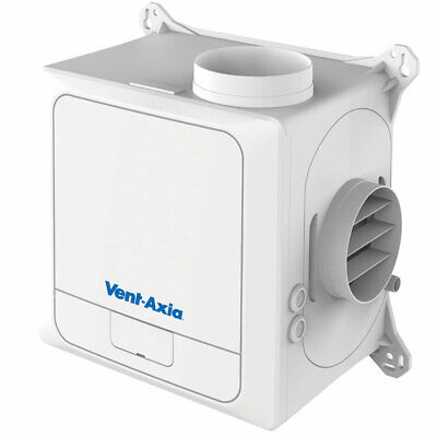 Vent-Axia Multivent MVDC-MSH Continuous Extract Ventilation Unit with Humidistat
