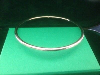 silver round bangle all handmade new for 2017 stunning with free gift bag