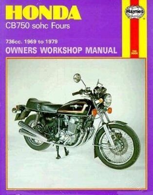 Honda CB750 sohc Fours Haynes Repair Manual 1969-1978-Jeff Clew