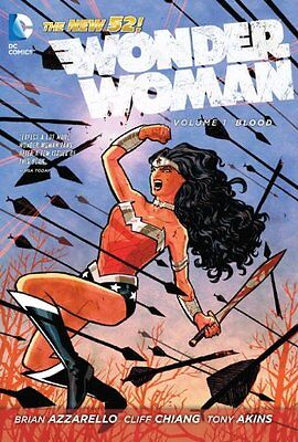 Wonder Woman, Vol. 1: Blood (The New 52)-Cliff Chiang