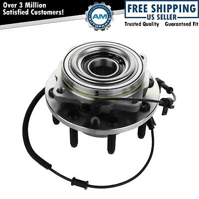 TRQ Wheel Bearing Hub Assembly Front or for 11-15 F250 F350 Super Duty 4WD SRW