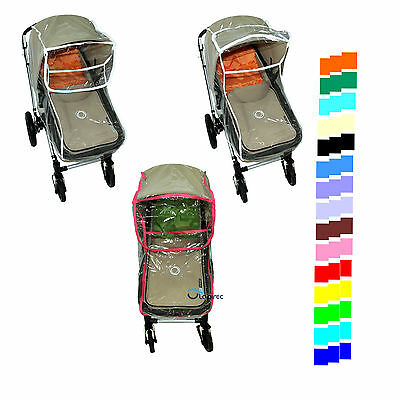 New baby CHILD PRAM bassinet and SEAT unit RAIN COVER fit Bugaboo Cameleon Frog