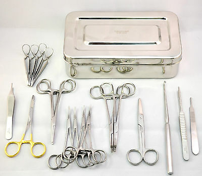 Feline Spay Kit Veterinary Surgical Instruments Ovaries Removal Animal Kit