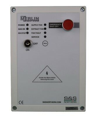 Merlin CT1250 Gas Interlock Panel Current Monitoring for Commercial Kitchens