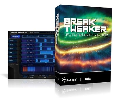 Izotope Breaktweaker Future Drum Machine ***make An Offer For Our Best Price***