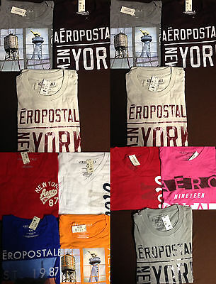 NWT Aeropostale Mens T Shirts Lot of 10 Extra Large XL Worldwide ship Resale