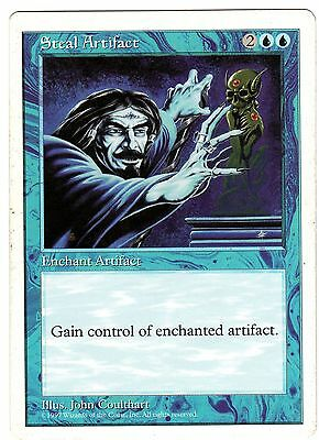 Steal Artifact - Rubare Artefatto carte MAGIC 5ED Fifth Edition ENGLISH CARD EXC