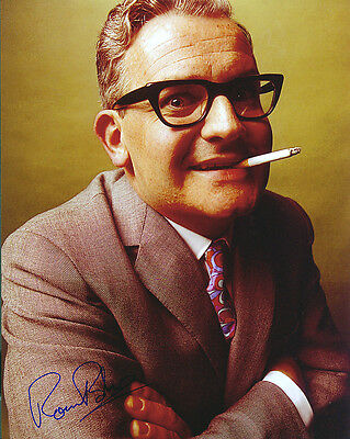 Ronnie Barker Signed Photo Print 02