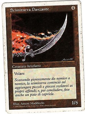 Scimitarra Danzante - Dancing Scimitar carte MAGIC 5ED Quinta Edizione Italiana