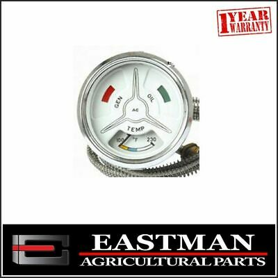 Oil Temp Gauge and Cable to suit Fordson Major