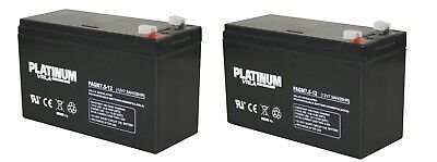 Pair of Batteries for Stannah Stairlifts, including Acorn, Brooks, Minivator   V