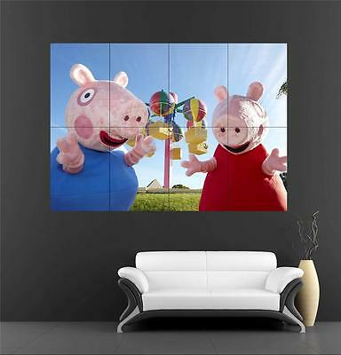 Peppa Pig Giant XL Section Wall Art Poster KR121