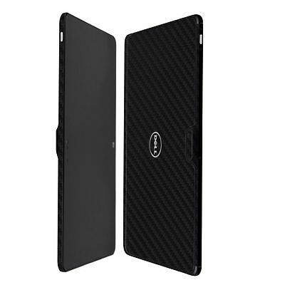 Skinomi Carbon Fiber Black Skin+Clear Screen Protector for Dell Venue 11 Pro