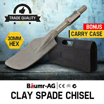 【UP TO 20%OFF】Baumr-AG Jackhammer Clay Spade Chisel Extra Wide Square-Tipped