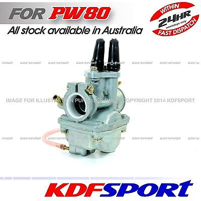 Kdf Pw80 Py80 Coyote 80 Carburetor Carby For Yamaha Pw Py Main Jet Carb 80Cc