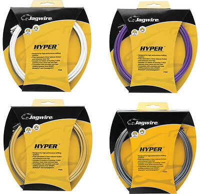 Jagwire Hyper Gear Cable Set Road And MTB All Colours
