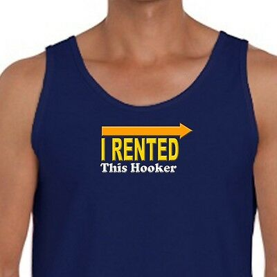 I Rented This Hooker rude Funny T-shirt Kenny Powers Tee Shirt