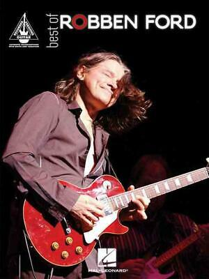 Best of Robben Ford by Robben Ford (English) Paperback Book Free Shipping!