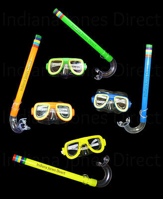 Snorkel Mask Set Snorkelling Swimming Diving Holiday Beach Goggles