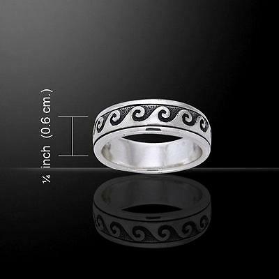 Wave Curl Ring TR1674