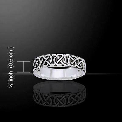 Celtic Trinity Knot Ring TRI883 Size Selectable