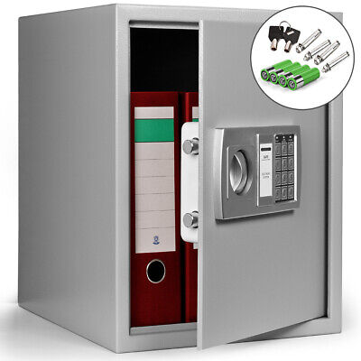 Electronic Digital Safe Safety Box Steel High Security Home Office Cash Money