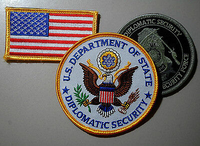 Private Security Contractor State Dept. Diplomatic Security Baghdad 3-Ssi Set