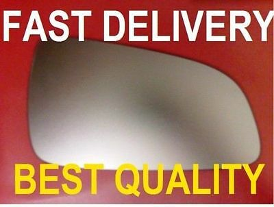 Vauxhall Astra H Saloon 2004-08 Door Wing Mirror Glass Flat Right Or Left