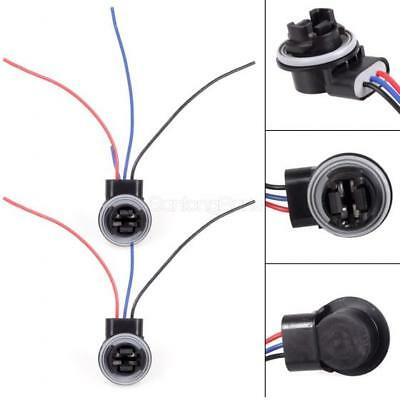 With 3 Wires Adapter Harness Sockets For Standard 3157 3057 3457 Brake Signal