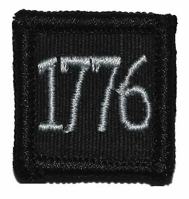 """1776 - 1""""x1"""" w/ Fastener Military Morale Patch"""