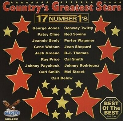Various Artists - Country's Greatest Stars: 17 Number 1's [New CD]