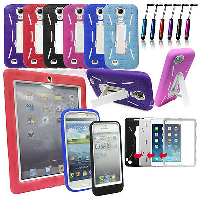 Tough Builders Heavy Duty Shock Proof Hard Case Cover For Mobile Phone / Tablets