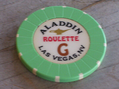 ROULETTE CHIP FROM THE ALADDIN CASINO, LAS VEGAS (ag)