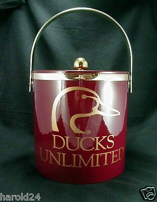 DUCKS UNLIMITED Ice Bucket/ Tub w/ Cover- FREE SHIPPING