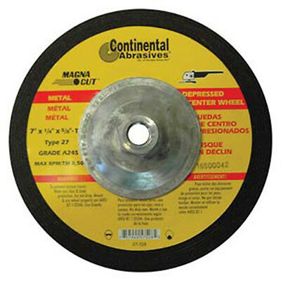 7 Inch With Hub 10-Pack Continental Metal Grinding Wheels