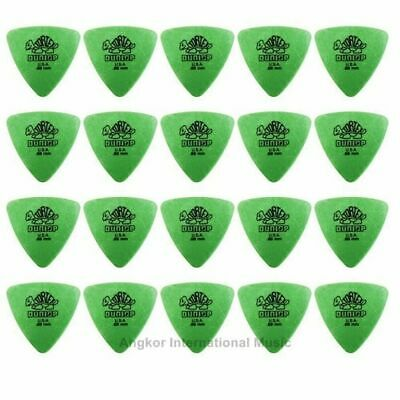 Dunlop Tortex Triangle 20 Green 0.88mm Picks 20 Guitar Picks / Plectrums Bass
