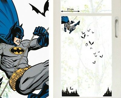 Kinder Fenstersticker Batman Comics Homesticker Fensterfolie Sticker