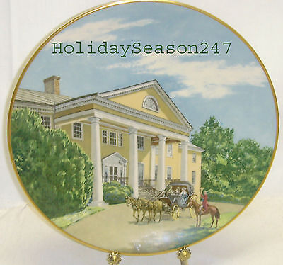 Vintage Collectible MONTPELIER Southern Landmark Series Plate 4717 by Gorham