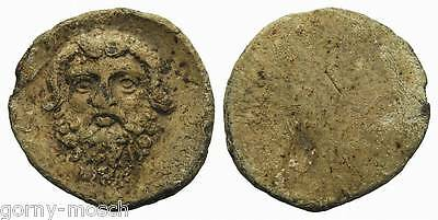 G&M: ANCIENT GREECE GREEK LEAD SEAL or LEAD PROBE INTERESTING COIN!! (MR106030)